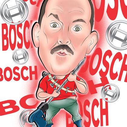 karikatūra no fotogrāfijas