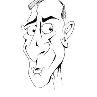 karikatūras pasākumā
